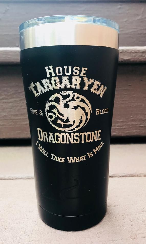 Game of Thrones House Tumbler Glass Gift