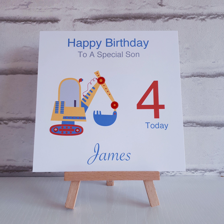 Personalised Boys Birthday Card Handmade Grandson Birthday Etsy Grandson Birthday Cards Birthday Cards Birthday Cards For Boys
