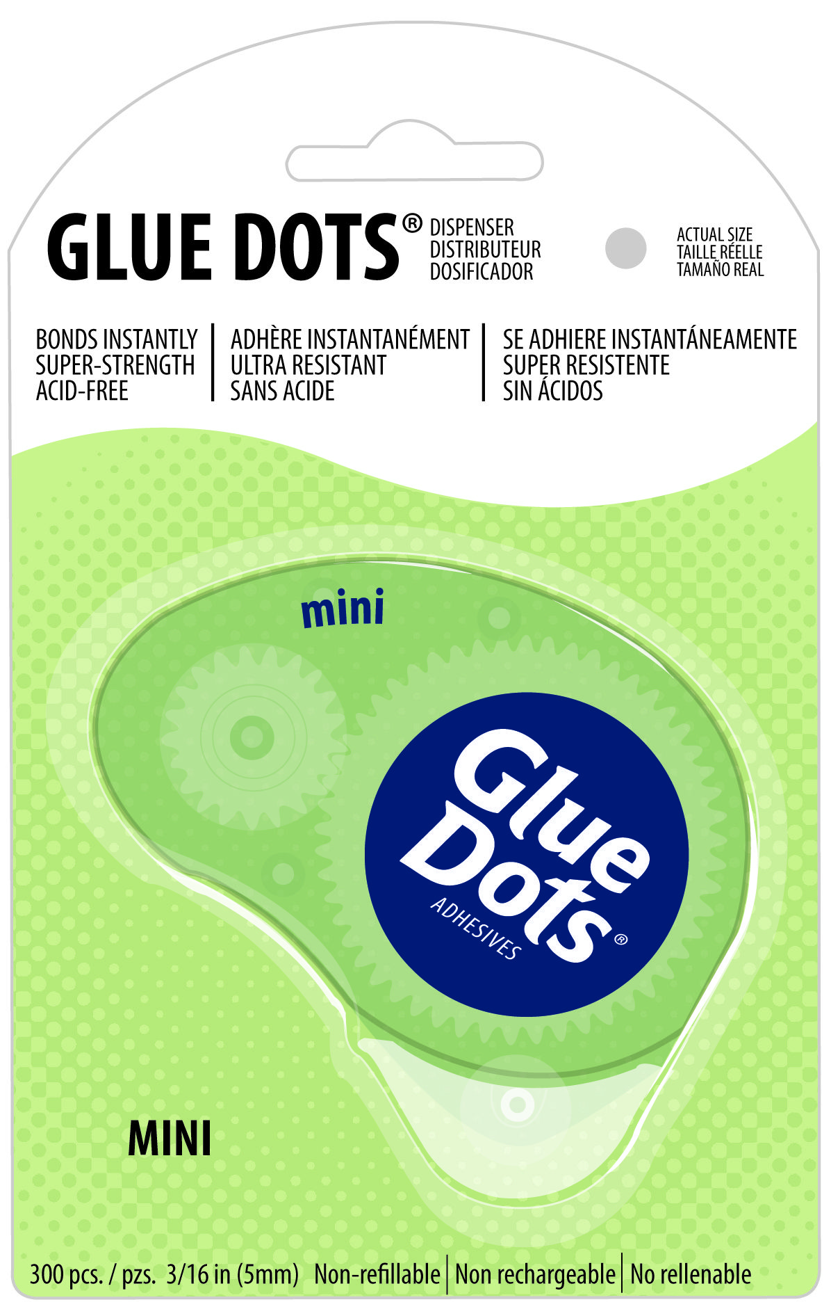 Applying Mini GlueDots is faster with this easytouse