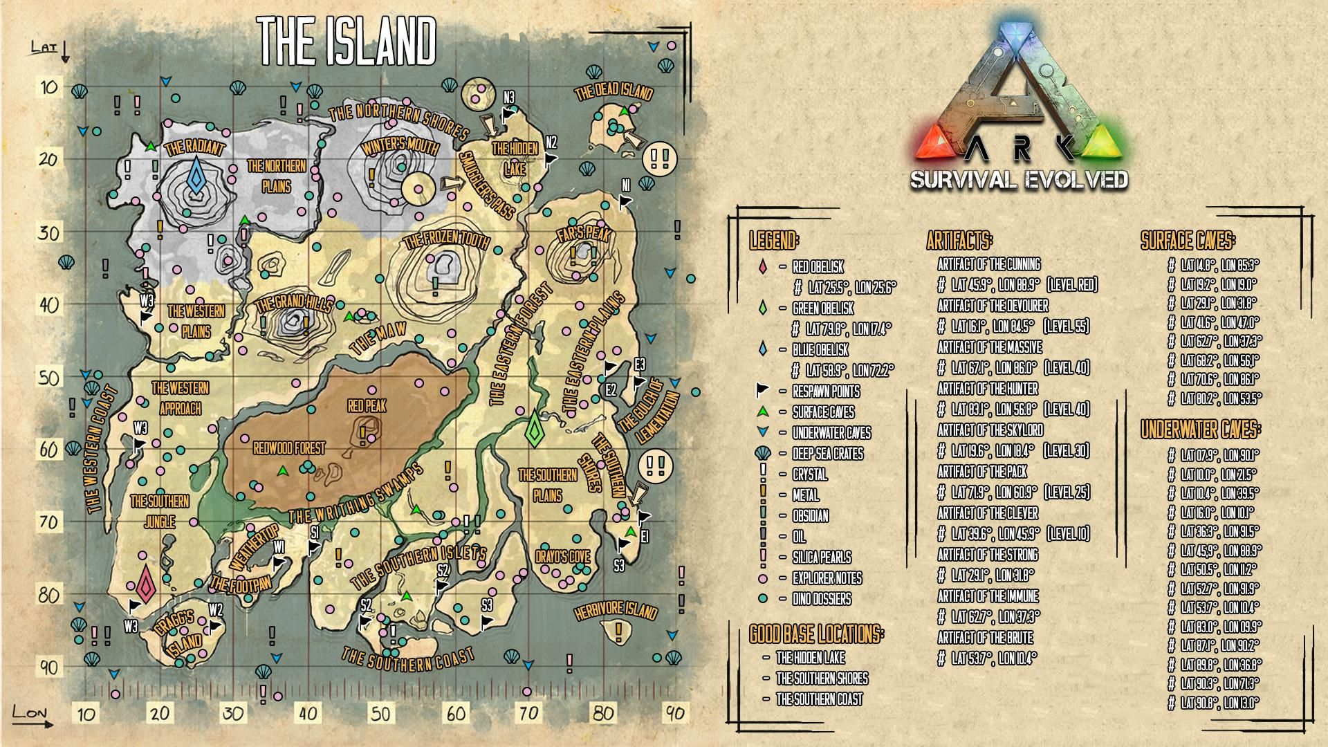 Ark Survival Evolved Guide For Beginners Maps Dinos Cooking