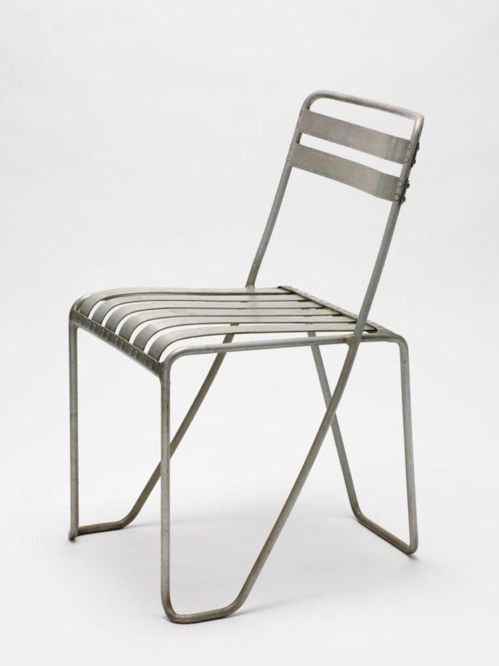 Alfred Roth Aluminum Chair Roth 1933 Stuhle Aluminium Museum