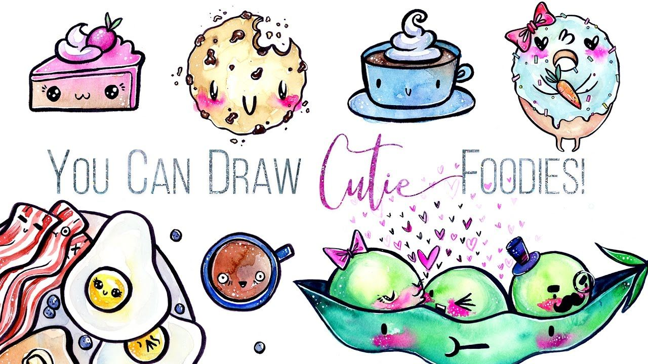 You Can Draw Cute Foods! In 2 Simple Steps // Skillshare