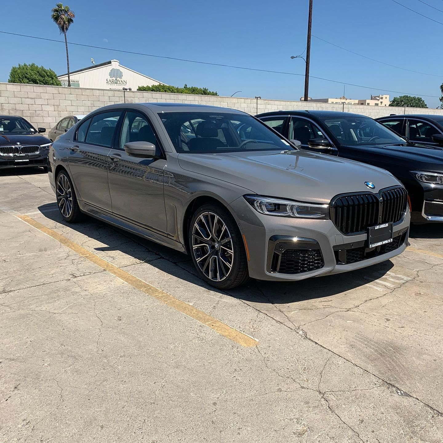 2020 750i Bernina Grey Amber Bmw Grey Bernina