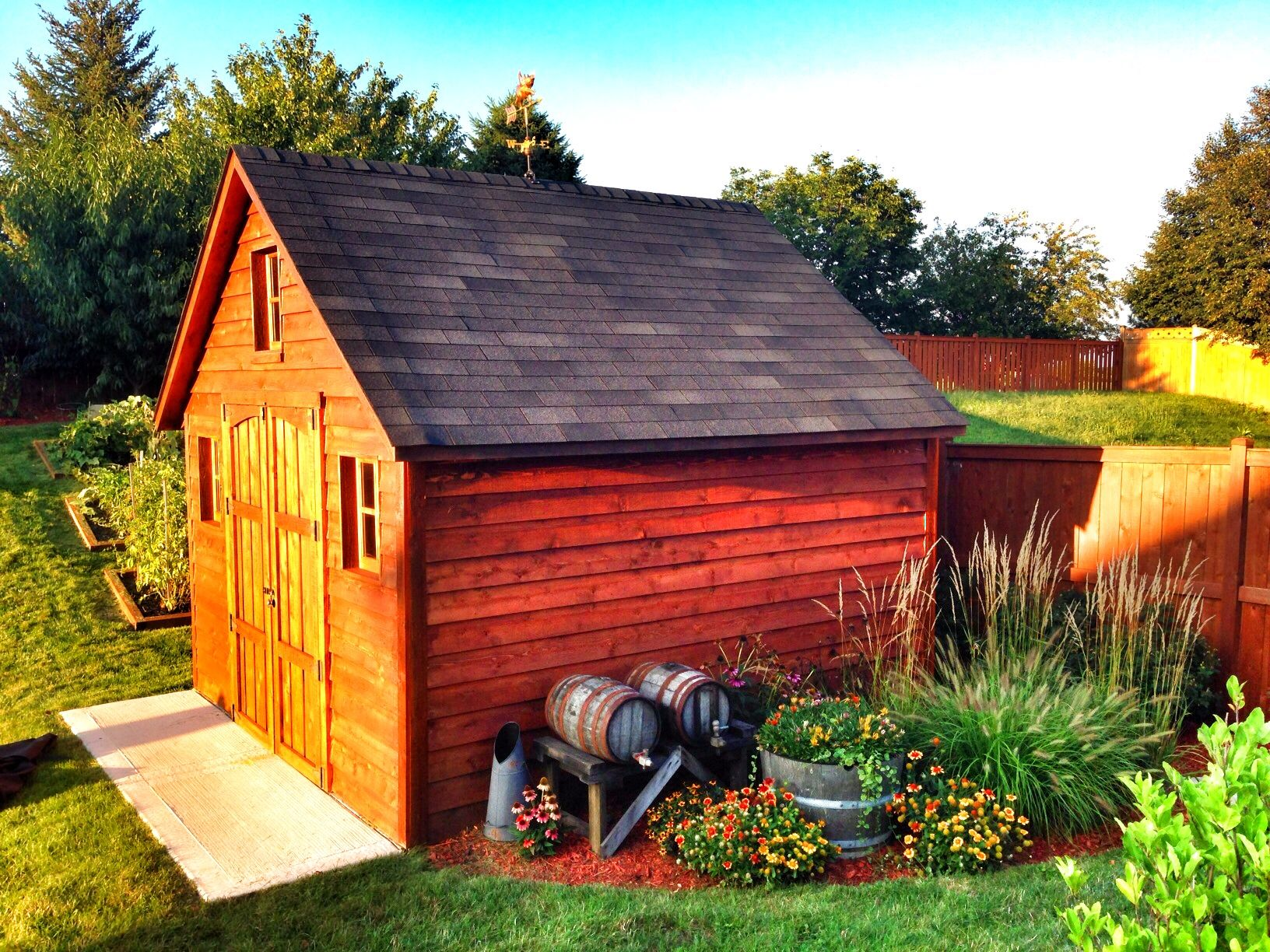 Beautiful Photo Of An Alpine Shed With Cedar Lap Siding Upgrade Cedar Lap Siding House Styles Shed