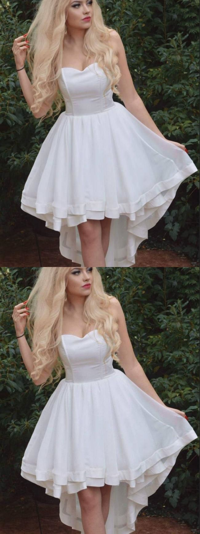 Ivory homecoming dress party cheap homecoming dress vb in
