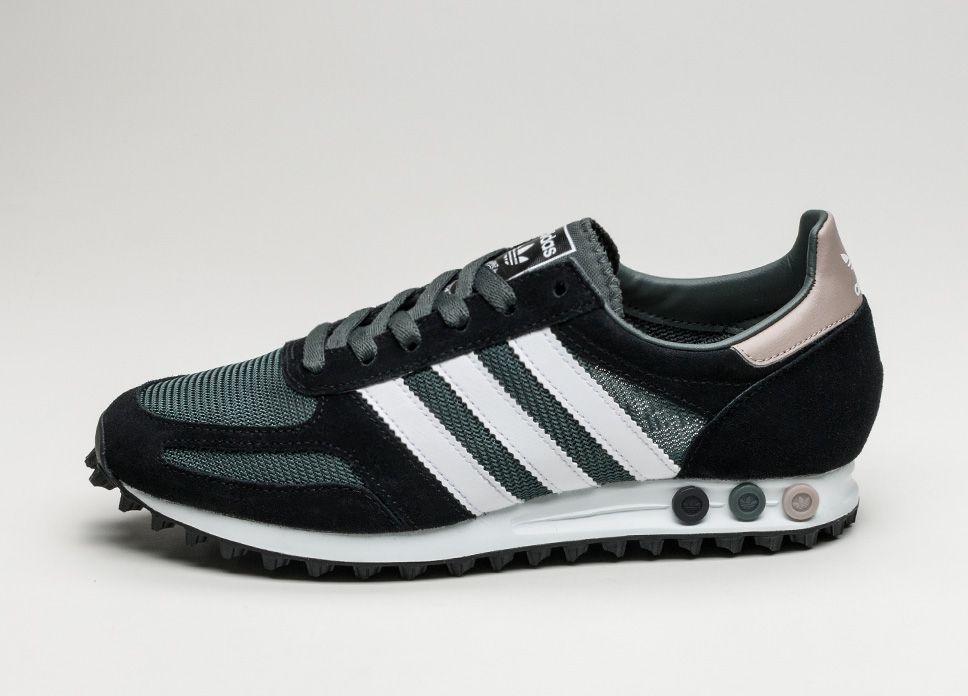 Adidas La Trainer Og Utility Ivy Ftwr White Core Black Lpu Sneaker Sneakers Adidas