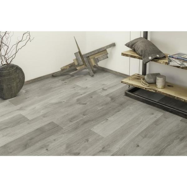 Home Decorators Collection Castle Gray Oak 1 3 in Thick x 6 26 in wide x 50 79 in Length Engineered Hardwood Flooring 17 66 sq ft case