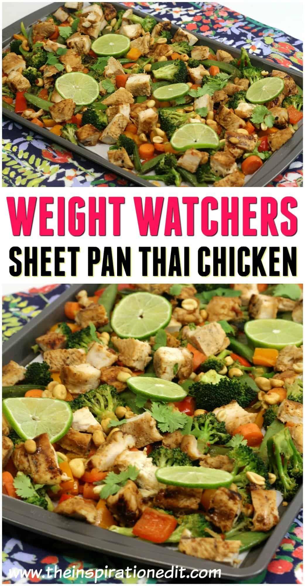 Thai Chicken Weight Watchers Recipe
