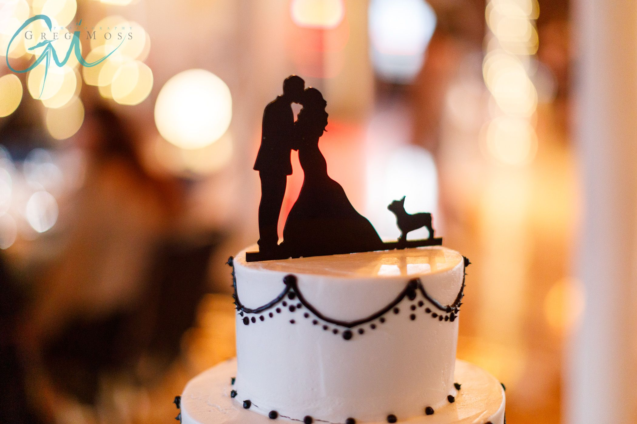Image by greg moss photography of d u mus custom cake topper that