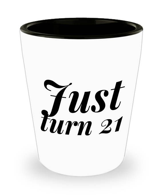 Unique 21st Birthday Gifts For Her Shot Glasses 21