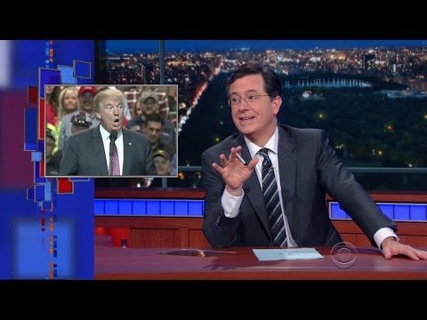 Late Show Political Week In Review ~ trump the Fraud