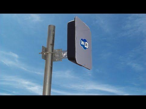 Antena Wi Fi De 8 Km De Alcance Youtube Wi Fi Tecnologia E