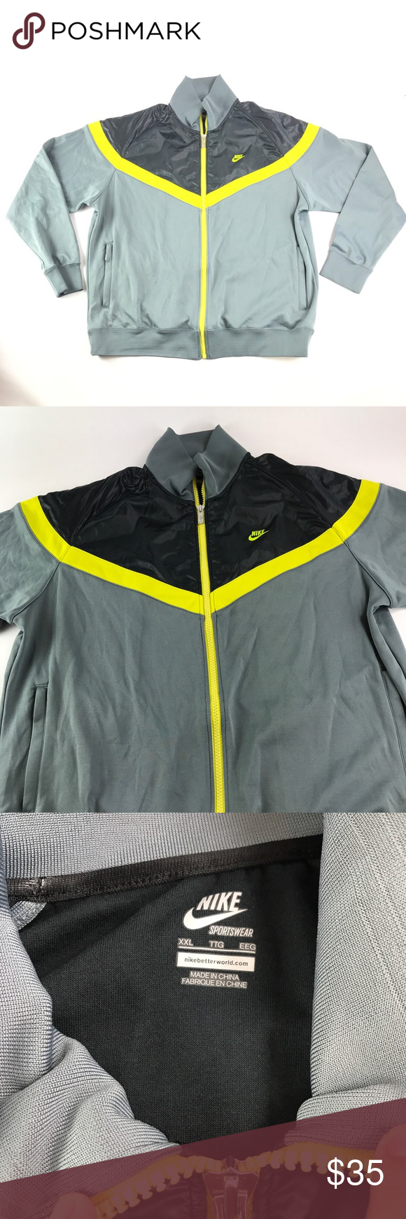 00538d0248f0 Nike Air Sportswear Full Zip Long Sleeve Jacket
