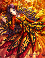 Autumn Butterfly by Eranthe