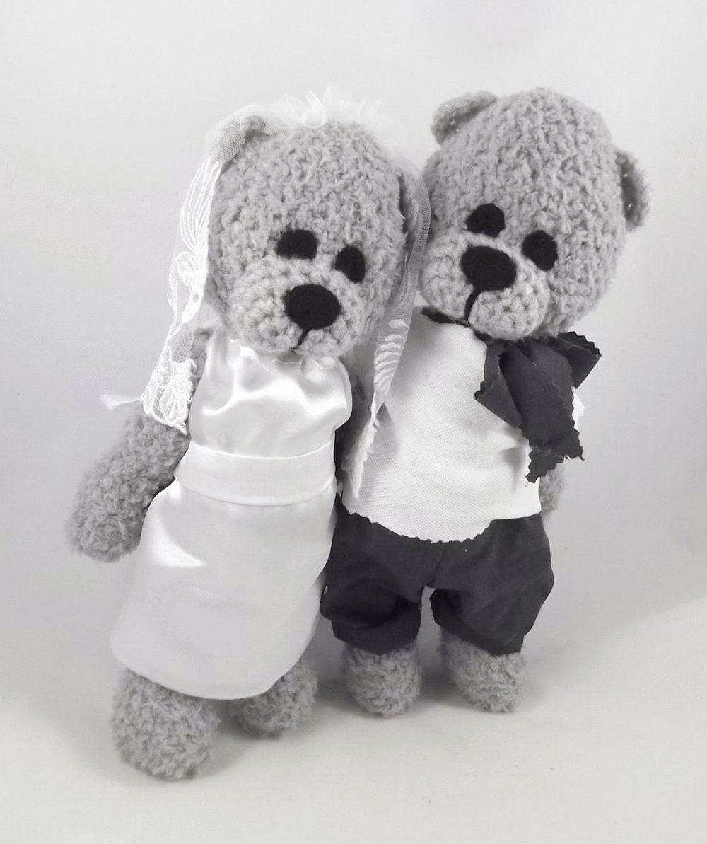 400d25a3c252d9 Ślubne Misie, Misiowa Para Młoda, Nowożeńcy, Małżeństwo, Maskotki Ślubne,  Weselne Figurki, Prezent Ślubny w wernika na Etsy