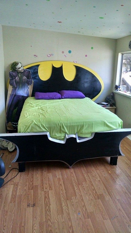 30 Stunning Diy Batman Themed Bedroom Ideas For Your Little Superheroes Bedroomdecor Bedroomideas Bedroomd Bedroom Themes Batman Themed Bedroom Bedroom Diy
