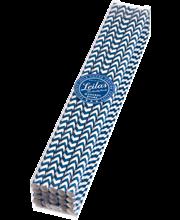 Sugrör - Mörkblå Chevorn