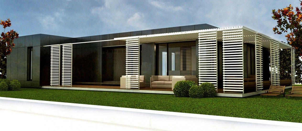Casas modulares prefabricadas en barcelona casas modulares en 2018 pinterest casas - Casa prefabricadas barcelona ...