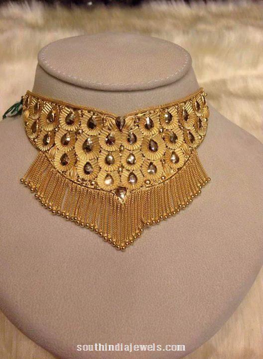 Latest Gold Choker Design From Kalyan Jewellers Gold choker