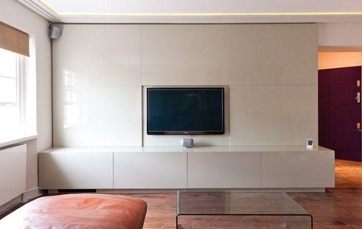 Tv Media Storage Unit Part - 25: Home Cinema AV Furniture U2013 Bespoke TV Units London | Barbara Genda