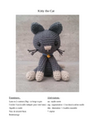 Kitty the Cat pattern by Janine