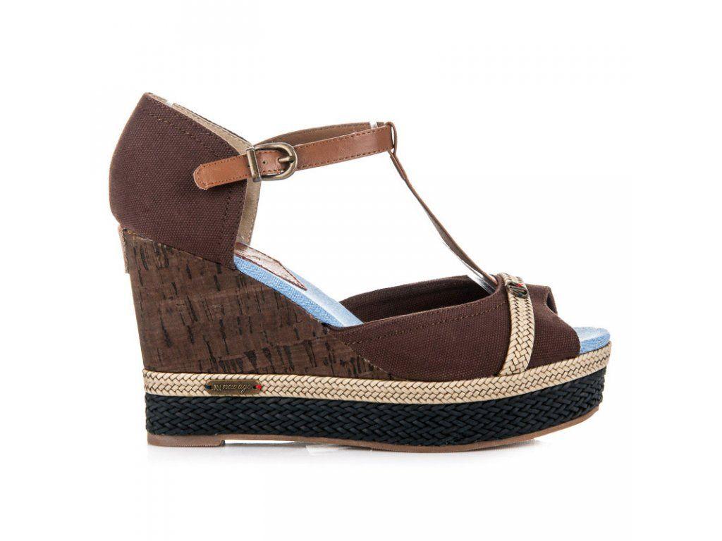 9e430ed0bc Hnedé sandále HHS015A-1BR