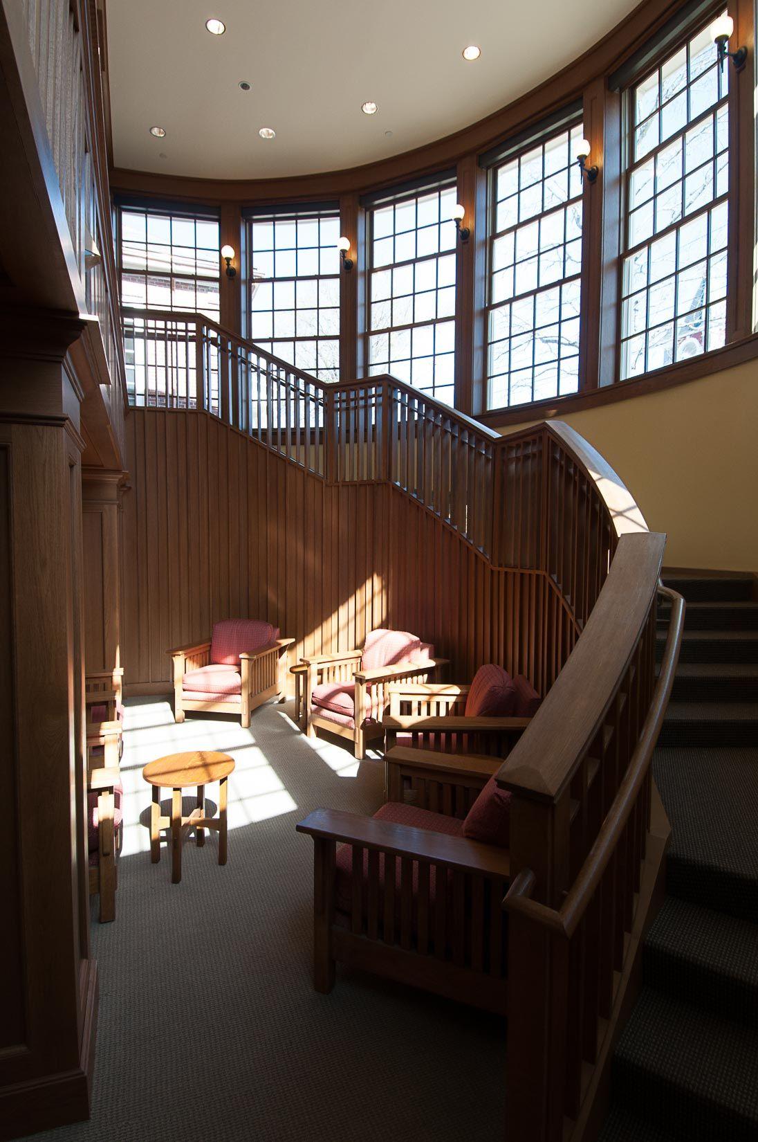 Fowler Branch Concord Library Design Design Stairways