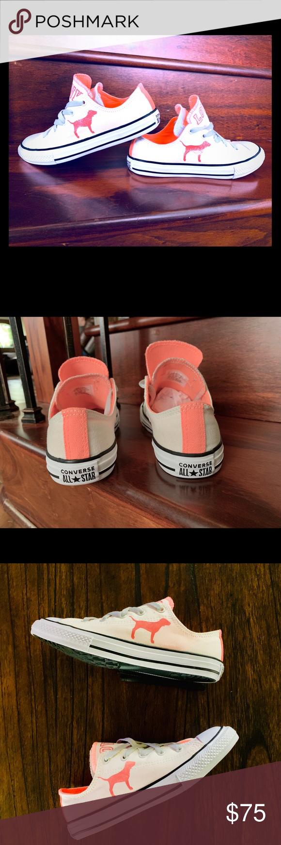 ffab15d281e5d Converse pink Victoria's Secret shoe, new, size 6 Converse all-star ...