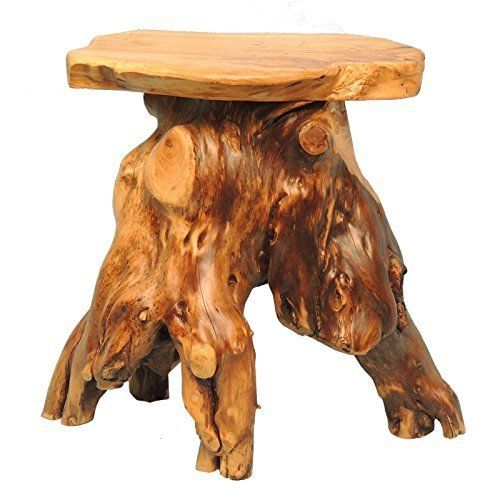Strange Welland Mushroom End Coffee Table Cedar Wood Stump Flower Download Free Architecture Designs Crovemadebymaigaardcom