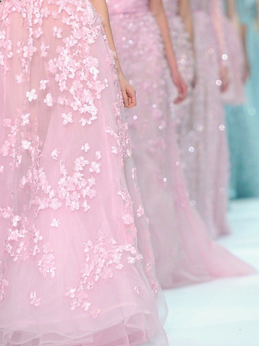 Elie Saab Haute Couture | Everything Is Prettier In Pink | Pinterest ...