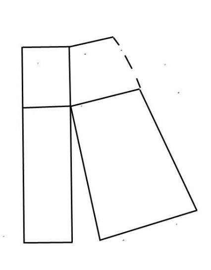 32b6b1255fa Patrones de faldas  Fotos de diseños - Patrón de falda con abertura ...