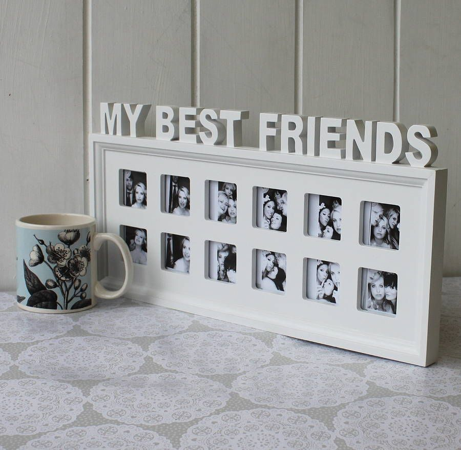my best friends photo frame