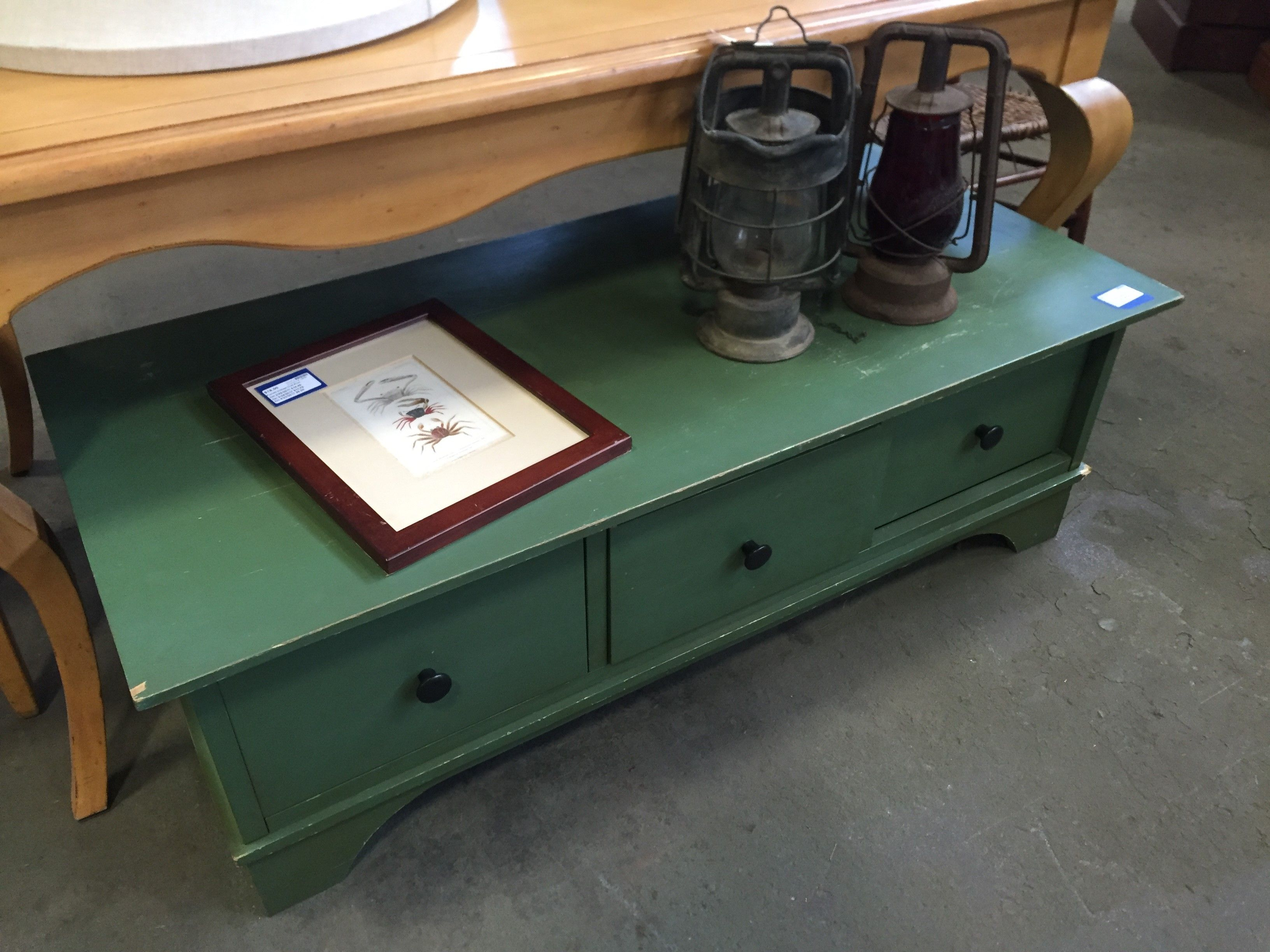 Green Coffee Tables Current Price 8200 First Markdown On 3 For The Home