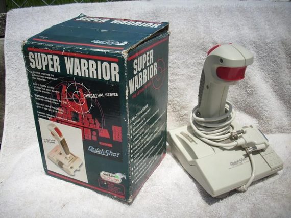 Quickshot Joystick Super Warrior Treiber Windows 10