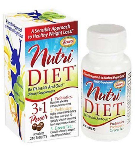 Kowa Nutridiet Tablets 210 Count Appetite Control Diet Grocery Lists Prebiotics