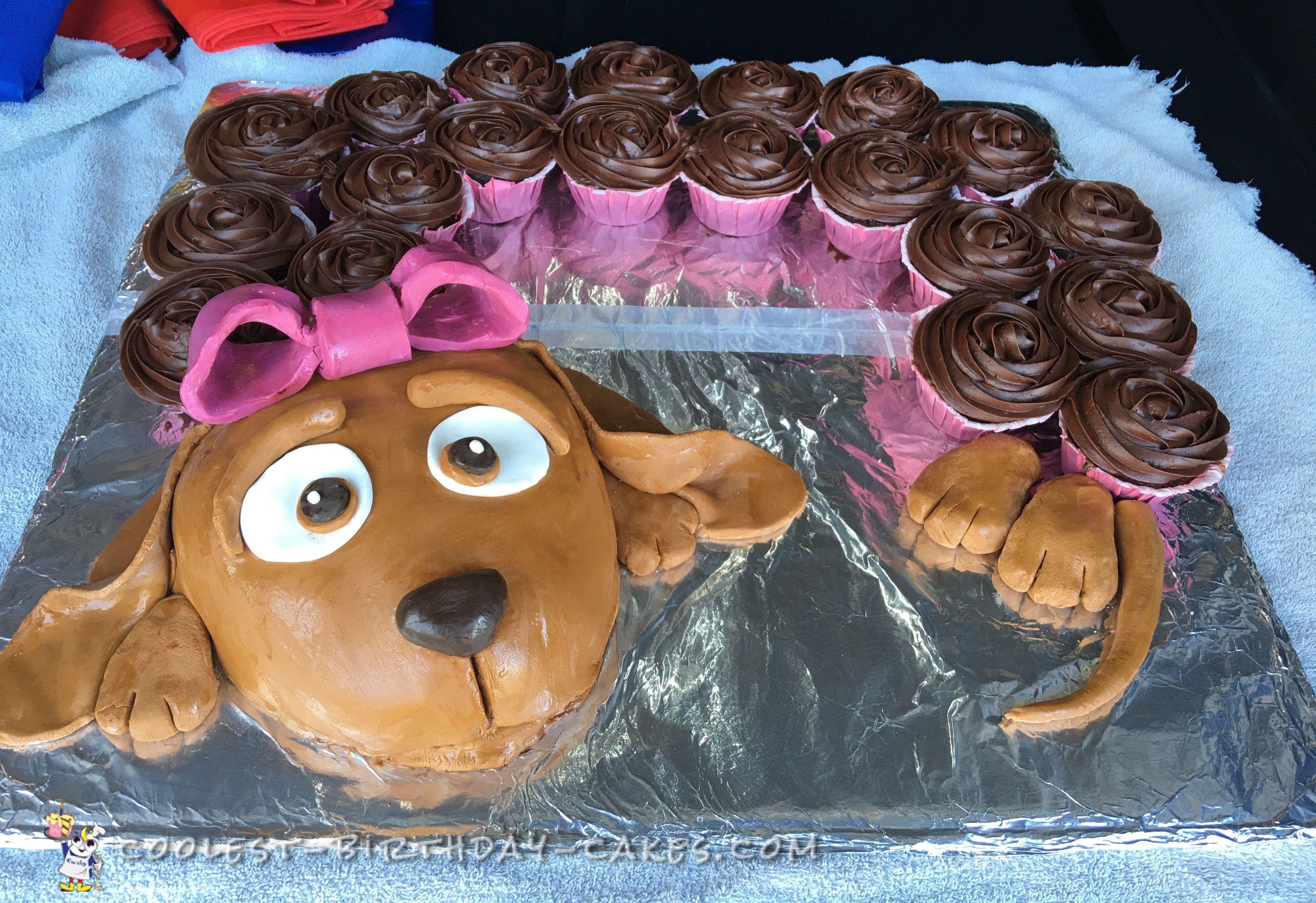 Coolest doggie cake hot diggity dog pinterest doggies