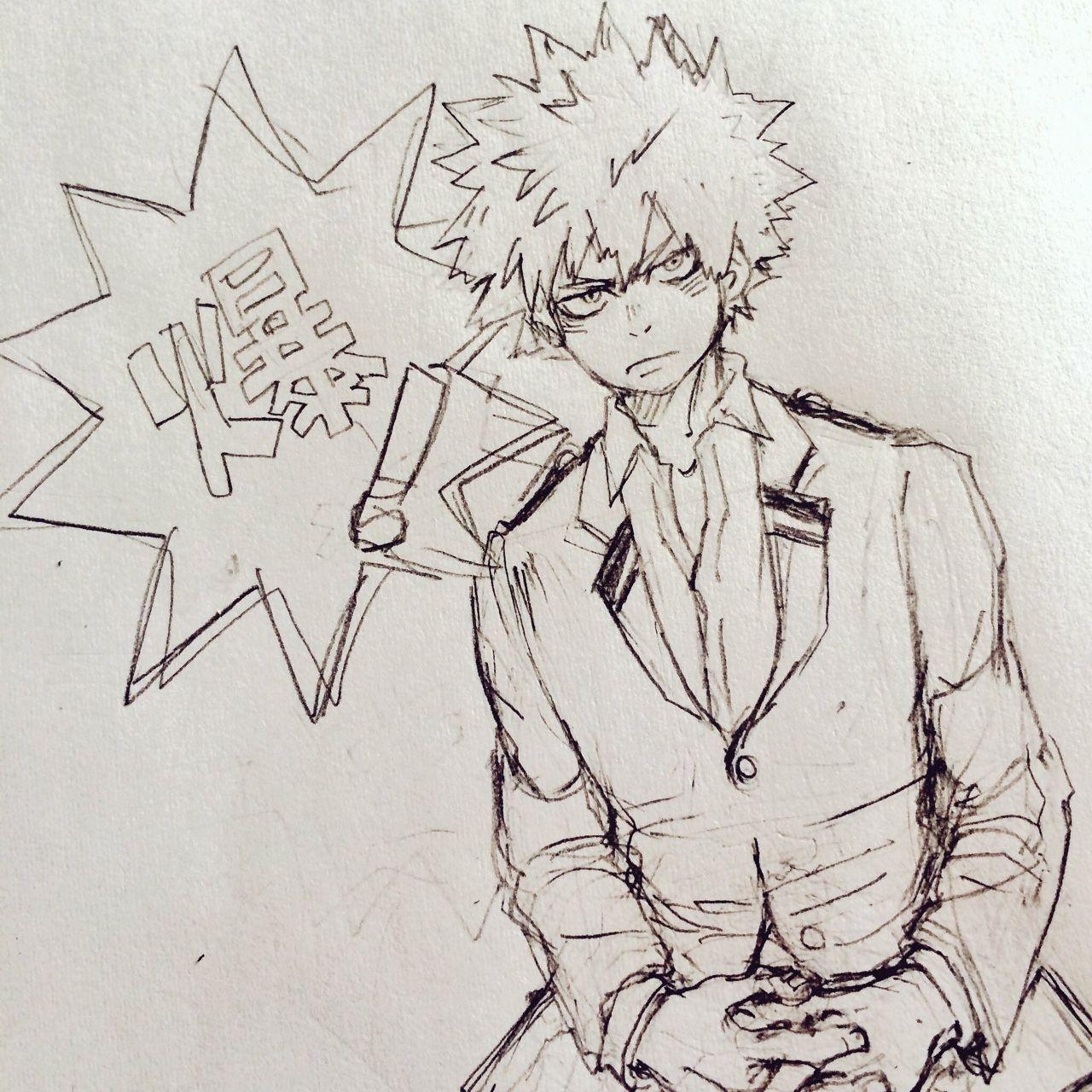 Boku no Hero Academia || Katsuki Bakugou