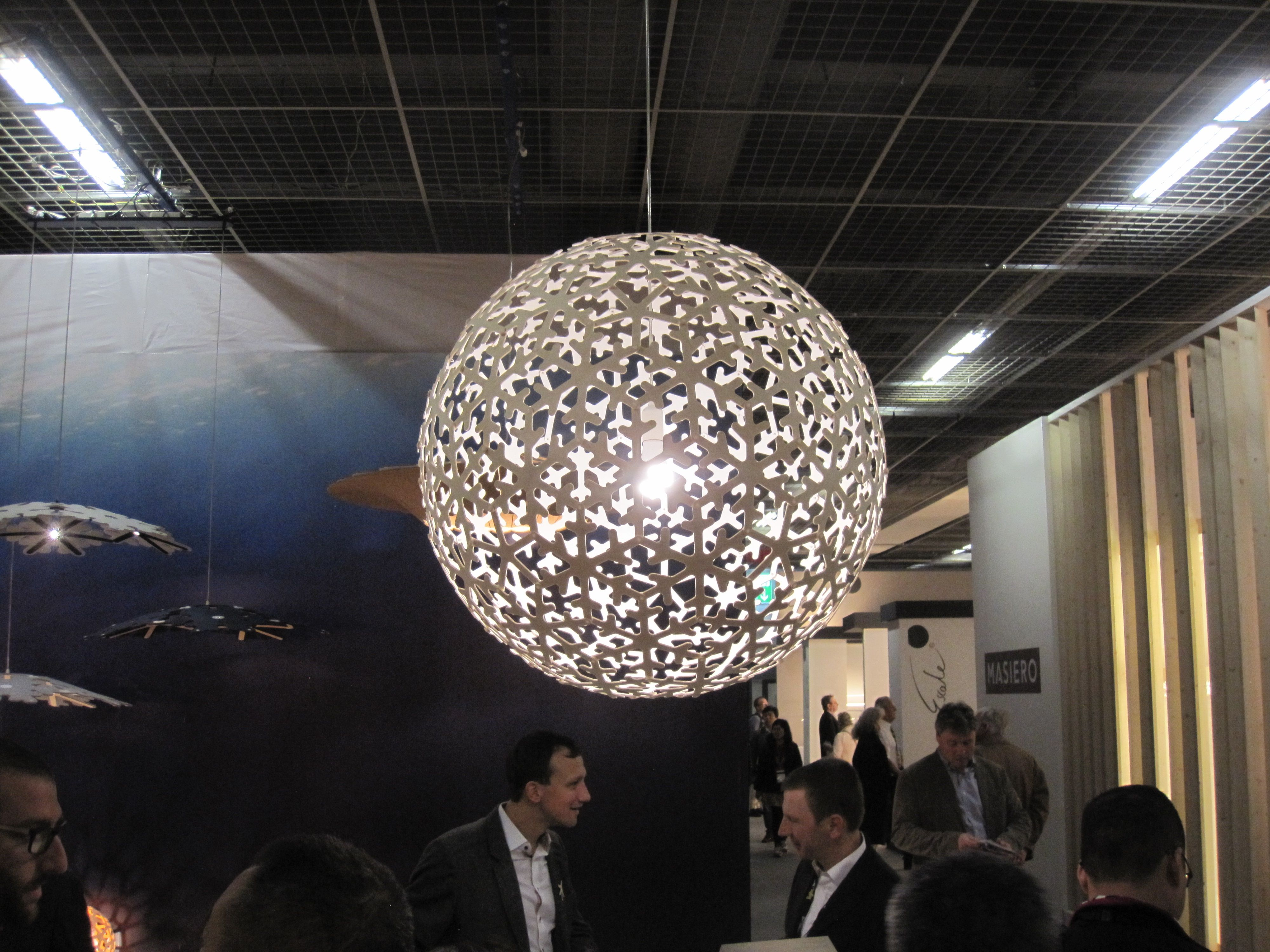 Described As A Combination Of The Snowflake, Coral And Sola Pendant Lights, David  Trubridgeu0027s