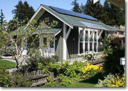 Small homes and studios by ross chapin architects cottage for Small rental house plans