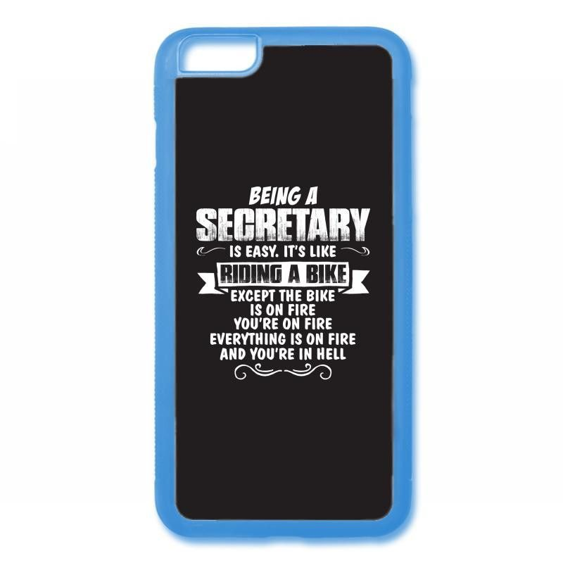 being a secretary iPhone 6/6s Rubber Case