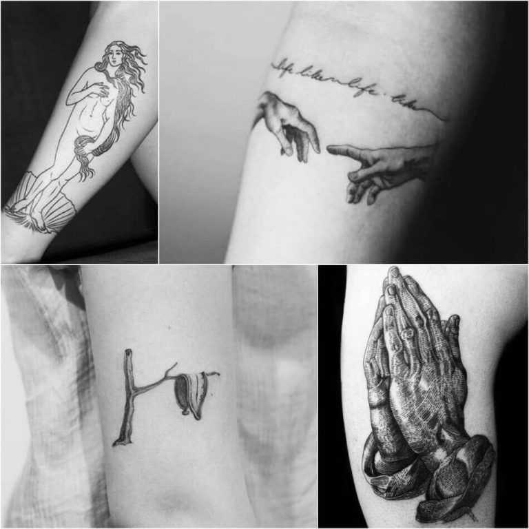 Painting Tattoo Ideas Tattoos For Art Lovers Inspired By Paintings And Works Of Art Tattoos Painting Tattoo Famous Tattoos