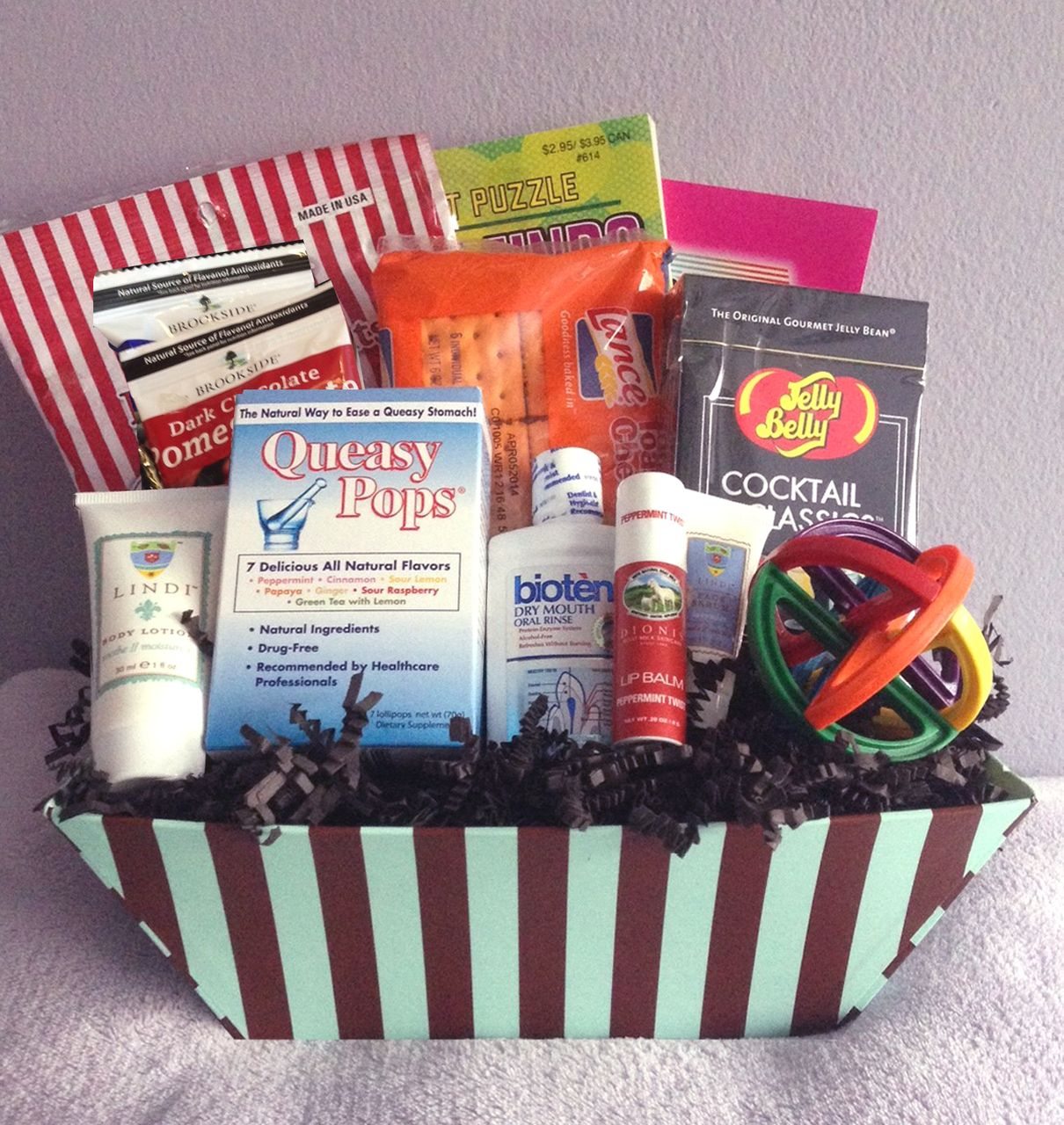 Men S Small Chemo Basket Gift Ideas Cancer Care