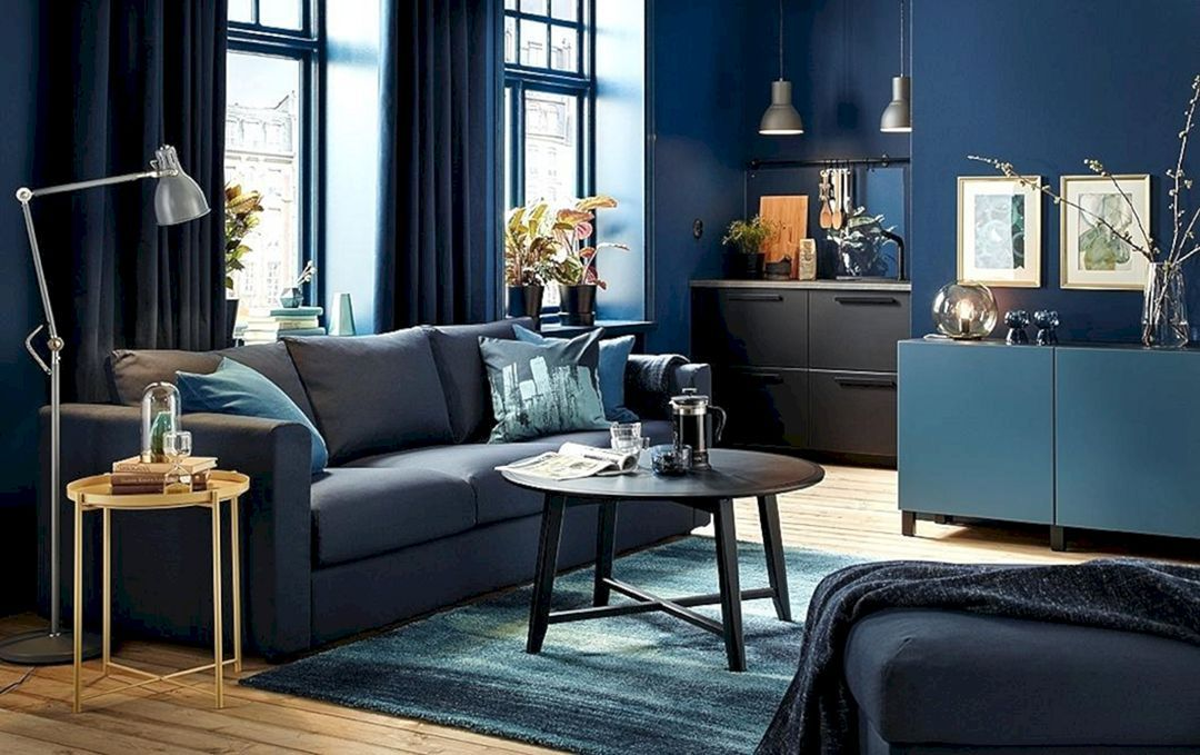 20 Lovely Green And Black Paint Color For Living Room Interior