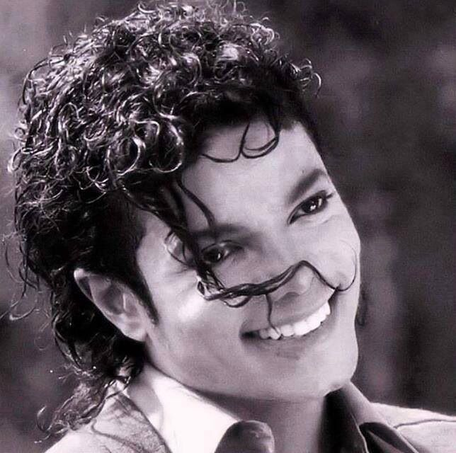 Beautiful smile #michaeljackson