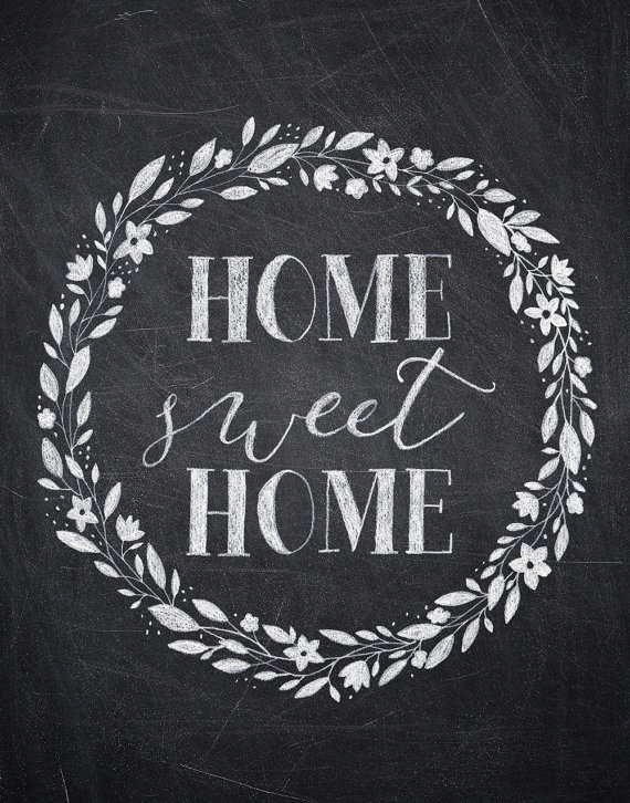 home sweet home chalkboard print to craft pinterest chalkboard