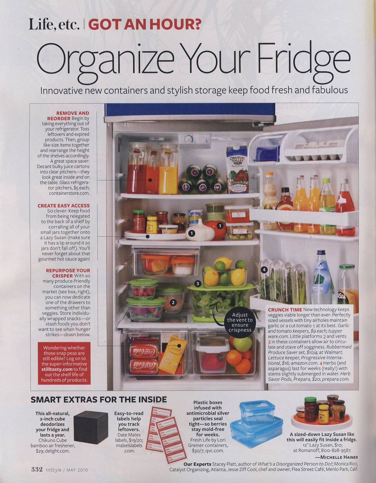 Refrigerator Organization Bins | Refrigerator Storage Tips What You Need To  Know Is Your Refrigerator .
