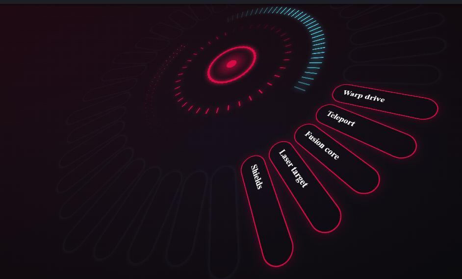 20+ Amazing CSS Circle Menu Examples Css, Css colours