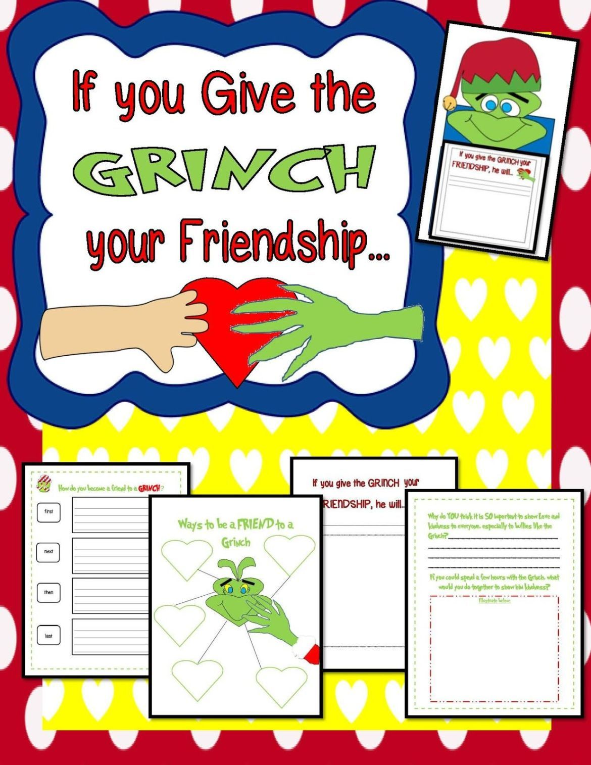 Grinch Christmas Activities Everything About Kindness