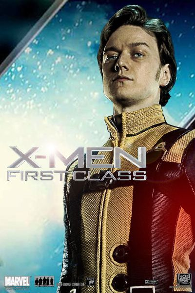 Publicity poster for James McAvoy as Charles Xavier ...