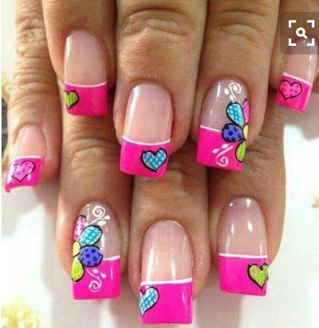 Pin de Linda Graciela en Nail designs | Pinterest | Verano